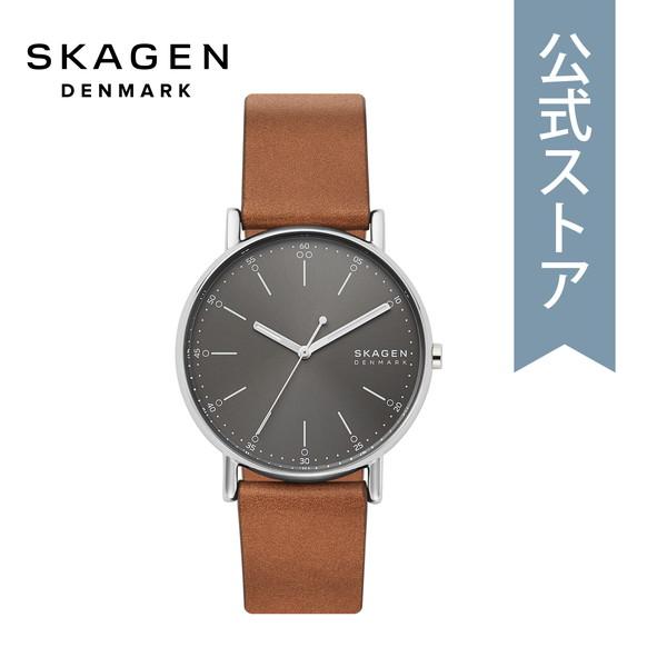 好評 公式ショッパープレゼント 当店限定販売 正規品 送料無料 スカーゲン 腕時計 メンズ ウォッチ SIGNATUR 2年 Skagen 時計 保証 公式 SKW6578