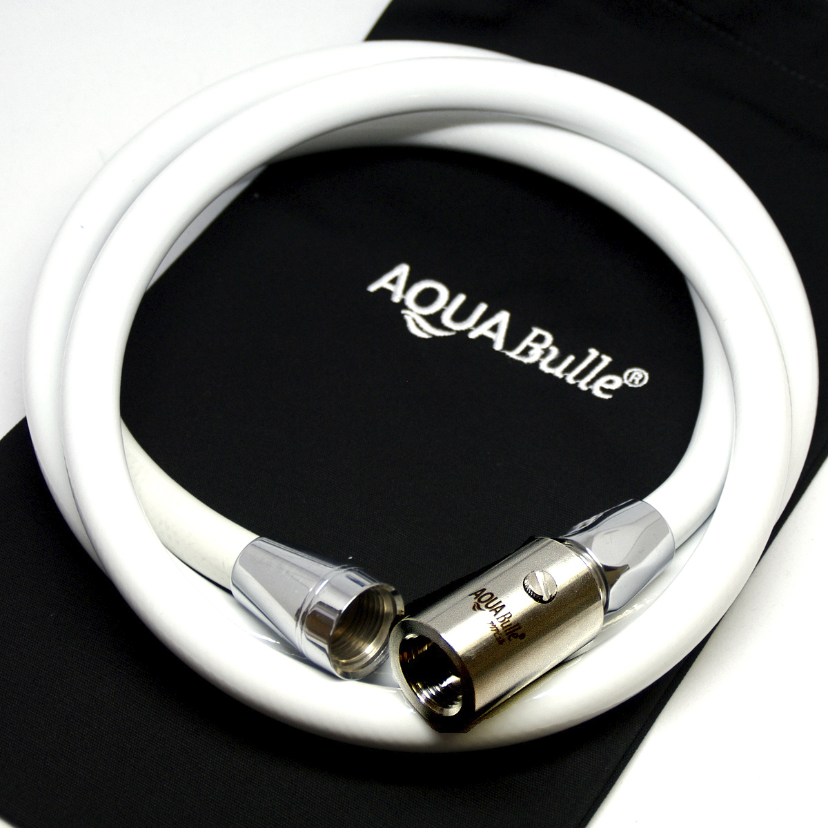 【AQ88健康を守ろう!!】マイクロバブル発生器ホースセット【アクアビュルシリーズ】pvcホース ホワイトセット