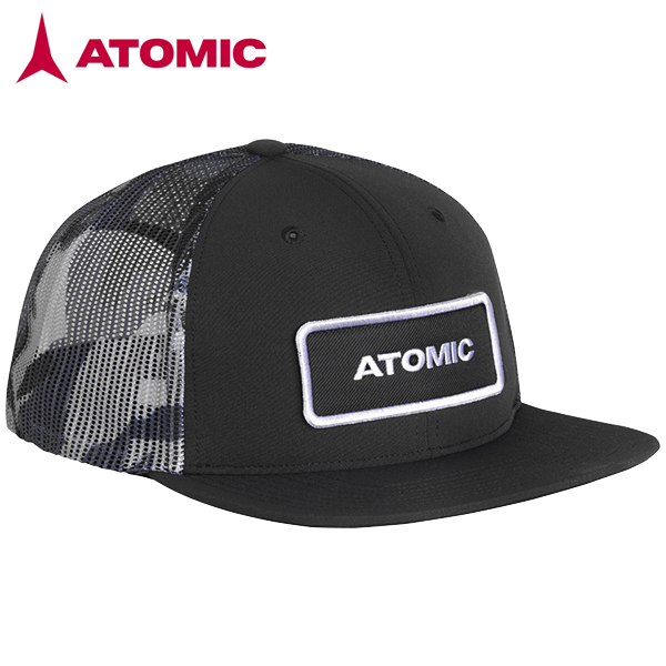 スキーブランド キャップ 帽子 ATOMIC アトミックALPS 新着 売れ筋 TRUCKER Black アルプス トラッカー CAP