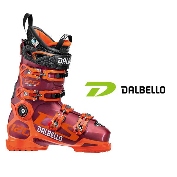 ダルベロ スキーブーツ DALBELLO【2018-19モデル】DS 120 レッド×オレンジ
