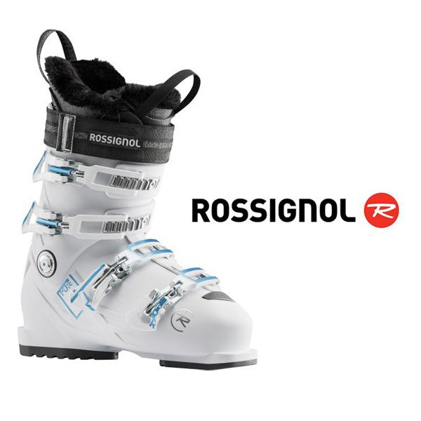 ロシニョール スキーブーツ ROSSIGNOL【2019-20モデル】pure 80 (WHITE GREY)