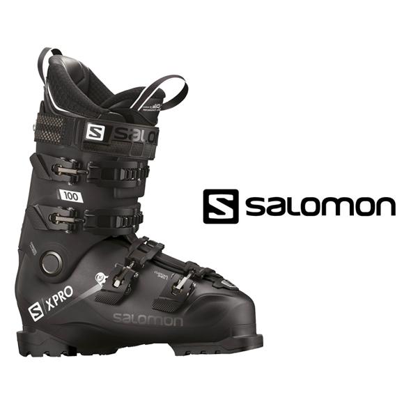 サロモン スキーブーツ SALOMON【2018-19モデル】X PRO 100(Black/Meta Black)