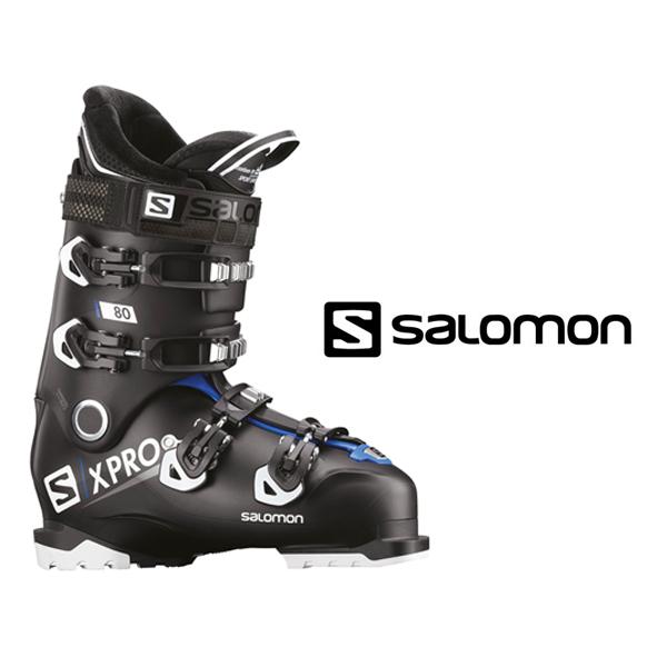 サロモン スキーブーツ SALOMON【2018-19モデル】X PRO 80(Black/Race blue/White)