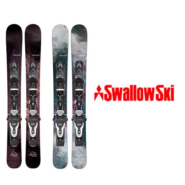 スワロー スキー板 SWALLOW【2019-20モデル】OREO 99(BLACK/WHITE) + XPRESS 10
