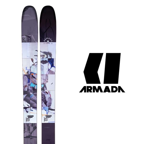21-22 モデル フリーライド  ARMADA アルマダ スキー板 《2022》ARV 106 (板のみ)〈 送料無料 〉