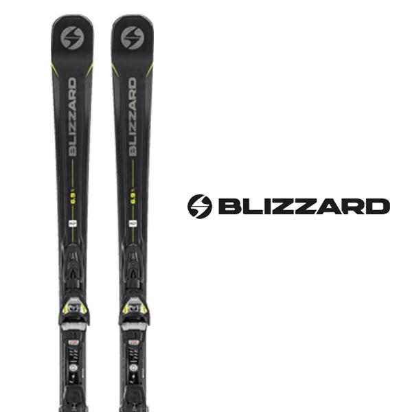 ブリザード スキー板 BLIZZARD【2018-19モデル】QUATTRO 6.9 Ti + TPX12 DEMO