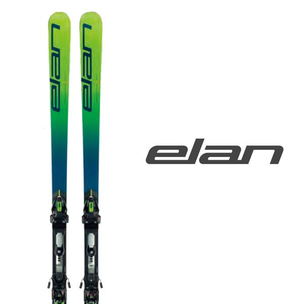 エラン スキー板 elan【2019-20モデル試乗板】 GSX WORLDCUP PLATE + ER 14.0