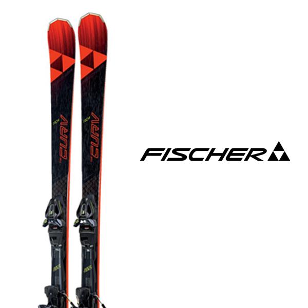 フィッシャー スキー板 FISCHER【2018-19モデル試乗板】RC 4 THE CURV DTX + RC4 Z12 GW(チューンナップ済み)