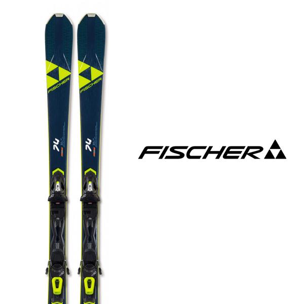 フィッシャー スキー板 FISCHER【2019-20モデル】RC ONE 74 + RS10 GW