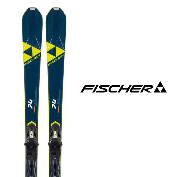 20-21 試乗板 デモ 基礎 オールラウンド FISCHER フィッシャー 試乗 スキー板 《2021》 RC ビンディング 74 RS 激安卸販売新品 GW 送料無料 〉 〈 セット ONE + 買い物 10