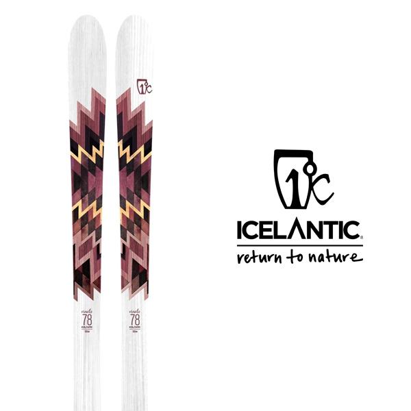 アイスランティック スキー板 ICELANTIC【2019-20モデル】ORACLE 78(板のみ)
