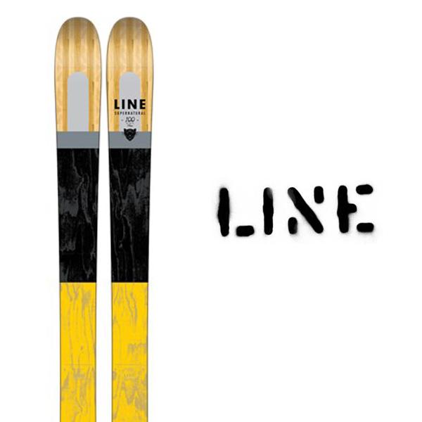 ライン スキー板 LINE【2017モデル】SUPER NATURAL 100(板のみ)