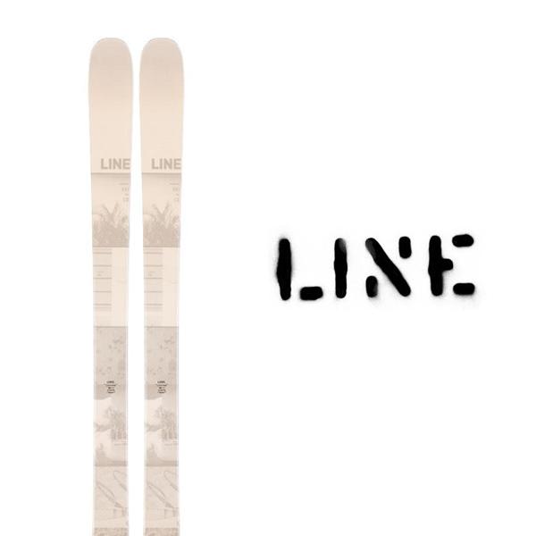 ライン スキー板 LINE【2019-20モデル】HONEY BADGER(板のみ)