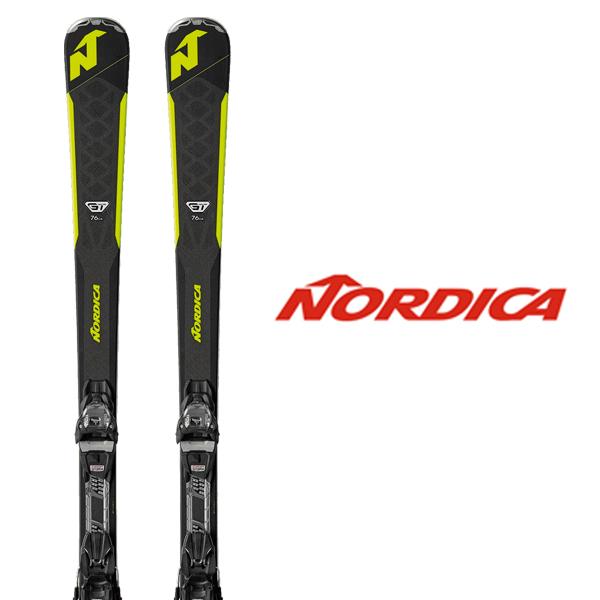 ノルディカ スキー板 NORDICA【2018-19モデル】GT 76 CA FDT + TPX 12 FDT