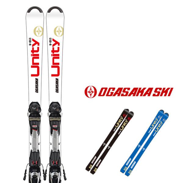 オガサカ スキー板 OGASAKA【2019-20モデル】UNITY U-OS/3 + MARKER FDT TP 10