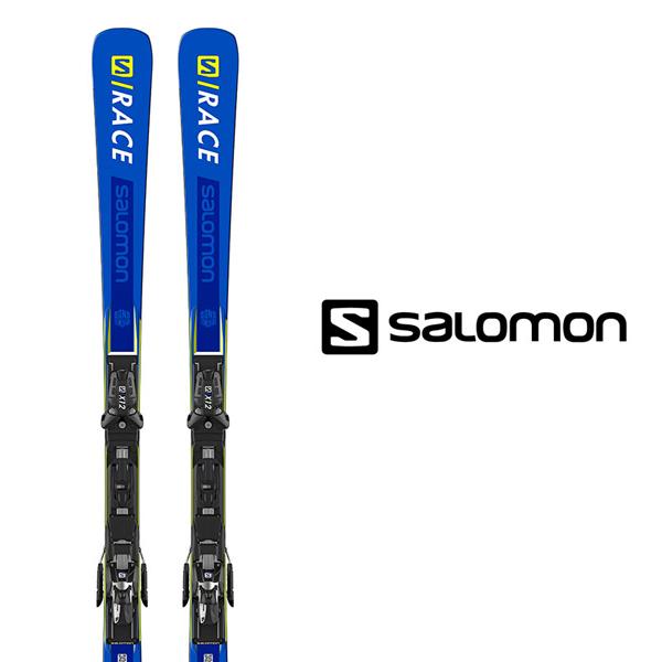 サロモン スキー板 SALOMON【2018-19モデル】S/RACE RUSH SL + X12 TL