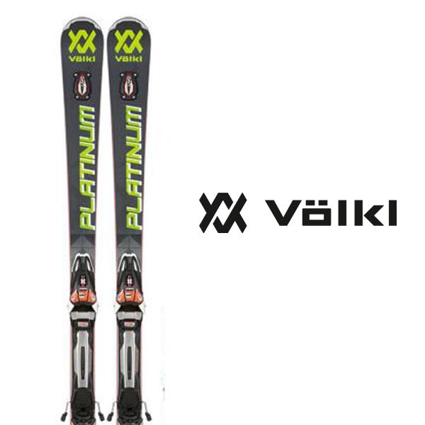 フォルクル スキー板 VOLKL【2017-18モデル試乗板】PLATINUM SD SPEEDWALL + rMOTION2 12 GW RACE