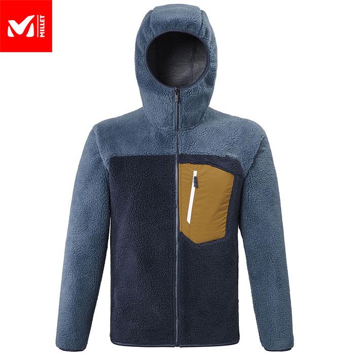 フリースジャケット クーポン利用で10%OFF!2/25AM12時までMILLET ミレー 8 SEVEN WINDSHEEP HOODIE M フリース ジャケット メンズ (SAPHIRーHAMILTON):MIV7985