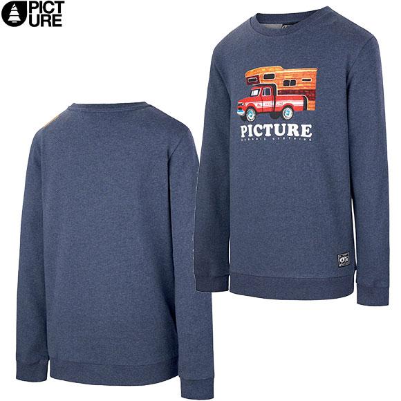 今季も再入荷 オーガニックコットンTシャツ PICTURE ピクチャー CHUCKITO CREW 21SS パーカー スェット トレーナー 11 T 18:00から6 トラスト Kids 6 :KSW112 18 10:00まで