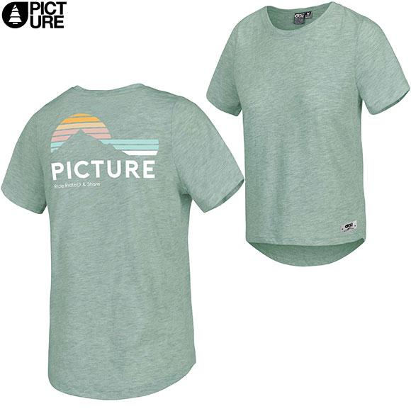 オーガニックコットンTシャツ PICTURE ピクチャー JOJO TEE 21SS Tシャツ 半袖 Women 18 全店販売中 T 18:00から6 6 10:00まで :WTS384 ランキングTOP10 25