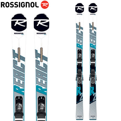 ROSSIGNOL ロシニョール 19-20 スキー 2020 REACT R2 + (XPRESS 10 金具付き) リアクト R2 スキー板 :RAILI02