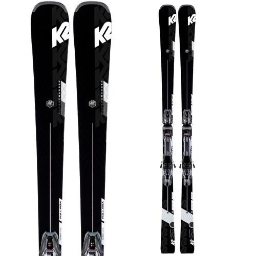 K2 ケーツー 19-20 スキー SUPER CHARGER スーパー チャージャー (金具付き) スキー板 2020 オールラウンド (onecolor):