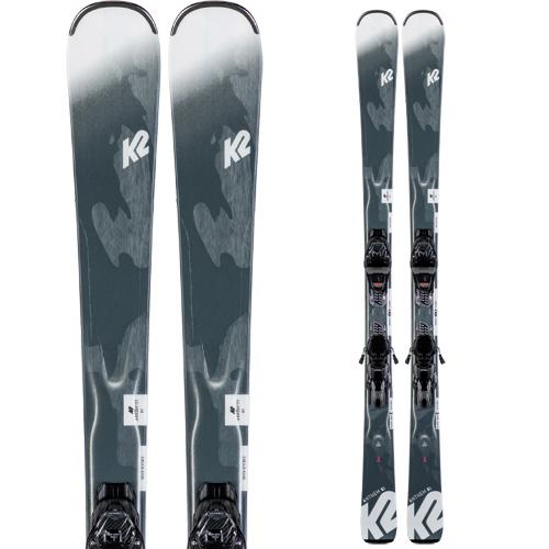 K2 ケーツー 19-20 スキー ANTHEM 82 アンセム 82 (金具付き) スキー板 2020 レディース オールマウンテン (onecolor):