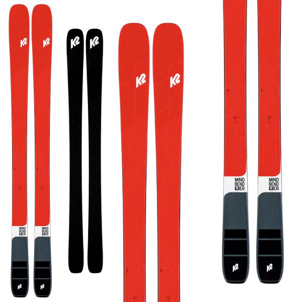 K2 ケーツー 19-20 スキー MINDBENDER 90C マインドベンダー 90C(板のみ) スキー板 2020 オールマウンテン ロッカー (onecolor):