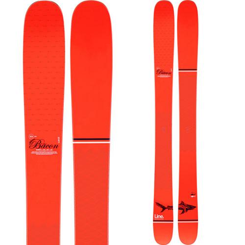 LINE ライン 19-20 スキー SIR FRANCIS BACON SHORTY サーフランシスベーコンショーティ (板のみ) スキー板 2020 フリースタイル オールマウンテン (onecolor):