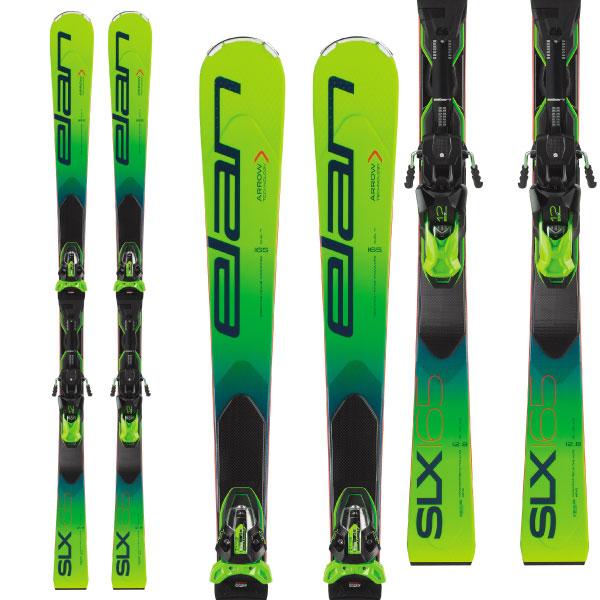 ELAN エラン 19-20 スキー 2020 SLX Fusion X SLXフュージョンX (金具付き) SL レーシング スキー板 (onecolor):