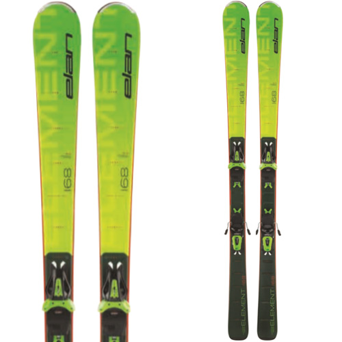 ELAN エラン 19-20 スキー 2020 ELEMENT GREEN (金具付き) オールラウンド スキー板