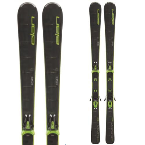 19-20 NEWモデル 新作 オールラウンド スキー スーパーセール限定価格!ELAN エラン 19-20 スキー 2020 ELEMENT BLACK (金具付き) オールラウンド スキー板 [34SSスキー]