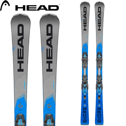 HEAD ヘッド 19-20 スキー 2020 SuperShape i TITAN スーパーシェイプ i タイタン (金具付き) スキー板 デモ 基礎 オールラウンド (onecolor):313289