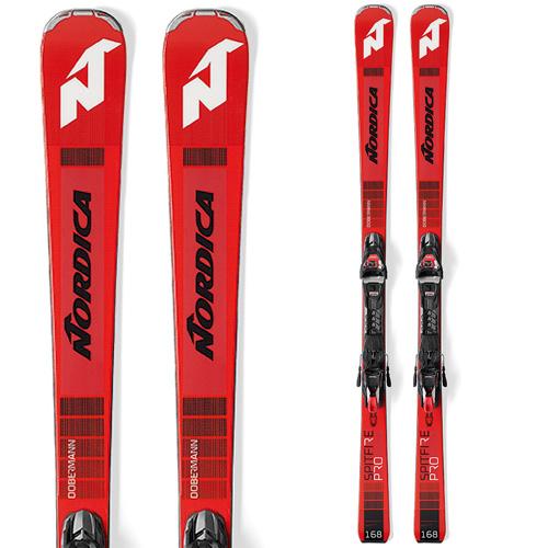 19-20 NEWモデル 新作 オールラウンド スキー スーパーセール限定価格!NORDICA ノルディカ 19-20 スキー 2020 DOBERMANN SPITFIRE PRO FDT ドーベルマン スピットプロ (金具付き) スキー板 オールラウンド: [34SSスキー]