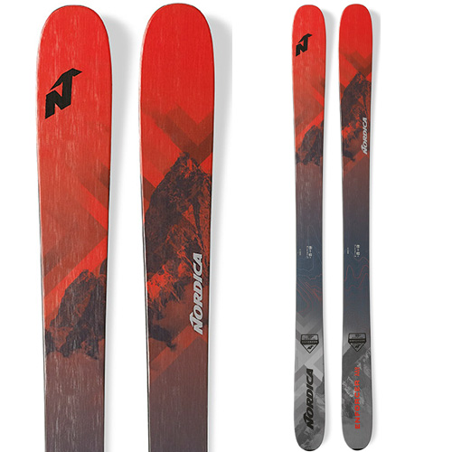 19-20 NEWモデル 新作 パウダー スキー スーパーセール限定価格!NORDICA ノルディカ 19-20 スキー 2020 ENFORCER FREE 110 エンフォーサーフリー 110(板のみ) スキー板 パウダー ロッカー : [34SSスキー]