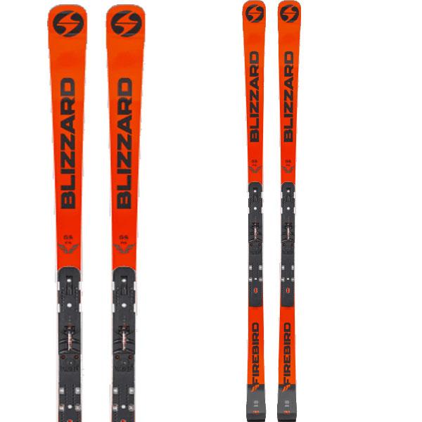 BLIZZARD ブリザード 19-20 スキー 2020 FIREBIRD GS FIS (FLAT+Plate) ファイアーバード GS FIS (金具付き) スキー板 レーシング: