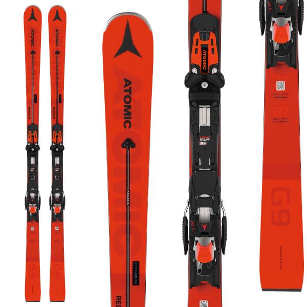 ATOMIC アトミック 19-20 スキー 2020 REDSTER G9 レッドスター (金具付き) スキー板 レーシング デモ ショート (onecolor):