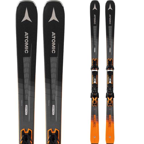 ATOMIC アトミック 19-20 スキー 2020 VANTEGE 82 Ti ヴァンテージ 82 Ti (金具付き) スキー板 オールマウンテン (onecolor):