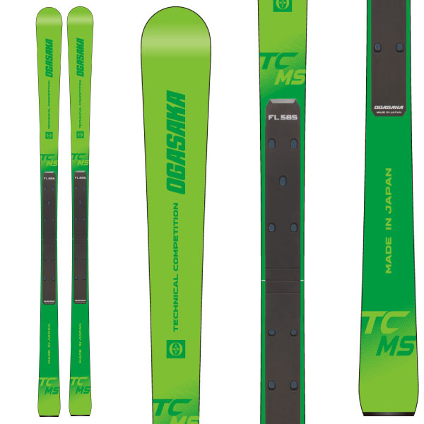楽天市場】OGASAKA オガサカ 19-20 スキー 2020 TC-MS + FL585 (スキー ...