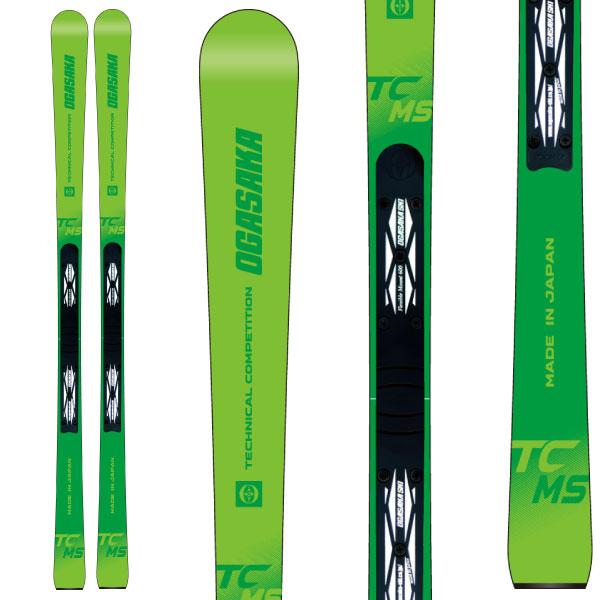 OGASAKA オガサカ 19-20 スキー 2020 TC-MS + FM600 (スキー+プレート) スキー板 オールラウンド デモ (onecolor):