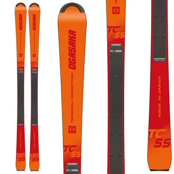 OGASAKA オガサカ 19-20 スキー 2020 TC-SS + FL585 (スキー+プレート) スキー板 デモ ショート (onecolor):