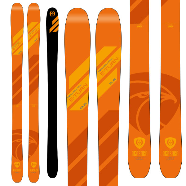 OGASAKA オガサカ 19-20 スキー 2020 ET-9.8 イーターン (板のみ) スキー板 オールマウンテン (onecolor):
