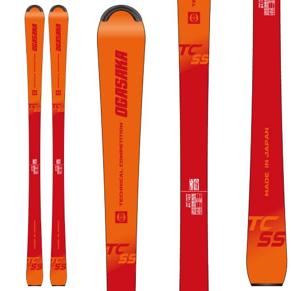 OGASAKA オガサカ 19-20 スキー 2020 TC-SS (板のみ) スキー板 デモ ショート (onecolor):