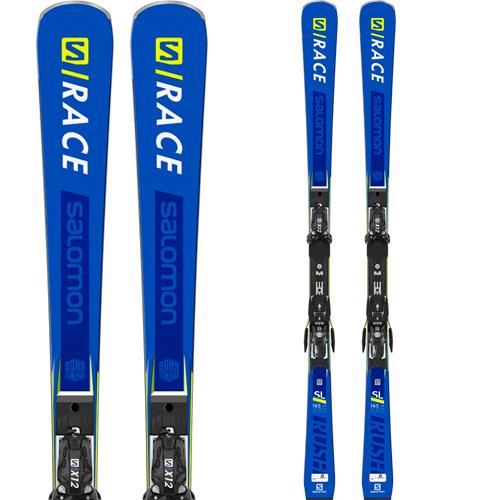SALOMON サロモン 19-20 スキー 2020 S/RACE RUSH SL P80 レースラッシュ (金具付き) スキー板 レーシング デモ ショート (onecolor):