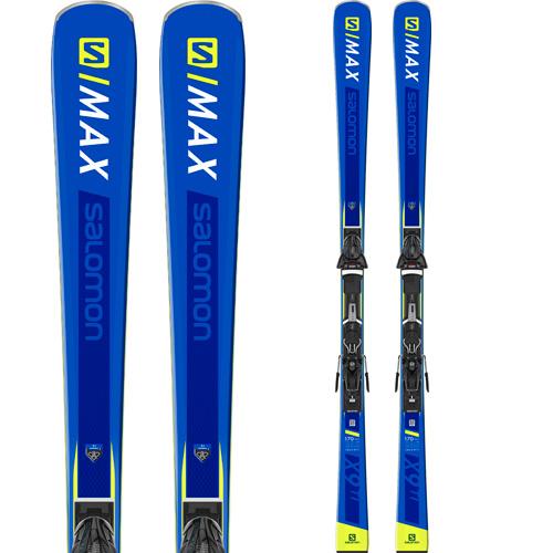 SALOMON サロモン 19-20 スキー 2020 S/MAX X9 TI エスマックス (金具付き) スキー板 デモ オールラウンド (onecolor):