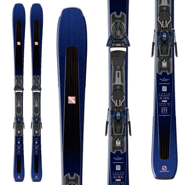 SALOMON サロモン 19-20 スキー 2020 AIRA 80 TI (金具付き) スキー板 オールマウンテン (onecolor):