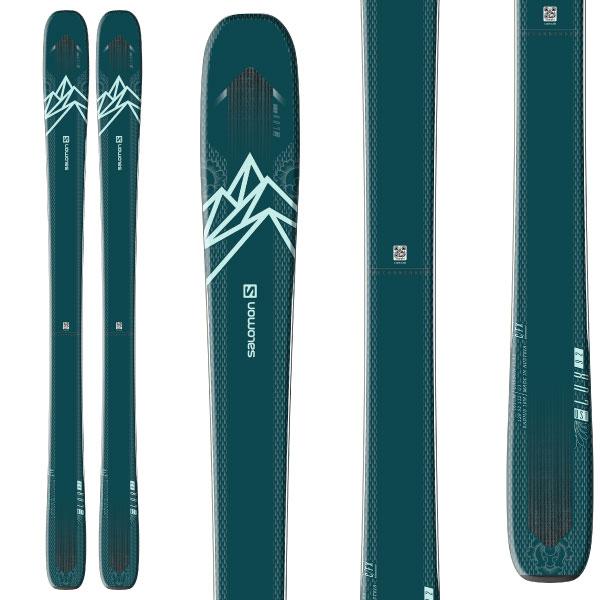 SALOMON サロモン 19-20 スキー 2020 QST LUX 92 クエストルクス 92 (板のみ) スキー板 オールマウンテン (onecolor):