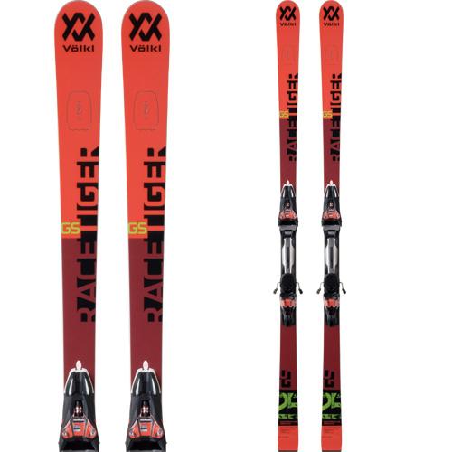 VOLKL フォルクル 19-20 スキー 2020 RACETIGER レースタイガー GS WC D MASTERS (金具付き) スキー板 GS レーシング (onecolor):