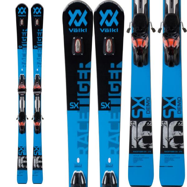 VOLKL フォルクル 19-20 スキー 2020 RACETIGER レースタイガー SX DEMO (金具付き) スキー板 デモ オールラウンド (onecolor):