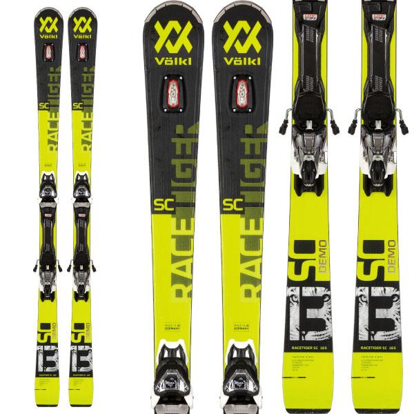 VOLKL フォルクル 19-20 スキー 2020 RACETIGER レースタイガー SC DEMO (金具付き) スキー板 デモ オールラウンド (onecolor):